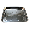 ATD Tools Stainless Steel Square Magnetic Tray