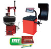 "ATD Tools Tire Changer w/FREE Wheel Balancer with Head & 5 Pc. 1/2"" Drive Wheel Torque Extension Set"
