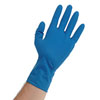 "Atlantic Safety Products Blue Lightning 12"" Powder Free Latex Gloves, Large"