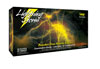 Atlantic Safety Products Lightning Storm Powder Free Nitrile Gloves, Small