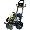 BE Power Equipment 3,200 PSI - 2.8 GPM Gas Pressure Washer With Honda GX200 Engine and AR Triplex Pump
