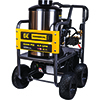 BE Power Equipment 4,000 PSI - 4.0 GPM Hot Water Pressure Washer with Honda GX390 Engine and General Triplex Pump