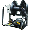 BE Power Equipment 1,500 PSI - 2.0 GPM Wall Mount Electric Pressure Washer with a Baldor Motor and AR Triplex Pump