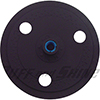 "Buff and Shine 7"" dia. X 3/4"" Grip backing plate with cooling holes 5/8"" - 11 threads"