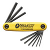 Bondhus Corporation Hex End GorillaGrip® Fold Ups, Inch, 9 pc.