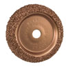 "Black Jack Tire Repair 2-1/2"" Diameter Buffing Wheel, 1/4"" Hole"