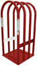 Branick Industries Model 2240 4-Bar Tire Cage with No-Mar Side Strips