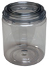 E-Z Mix E-Z View Clear Plastic Paint Can, Quart