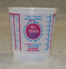 E-Z Mix 1/2-Pint Plastic Mixing Cups, box of 100