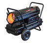 Enerco HD Portable Direct-Fired Forced Air Kerosene Heater, HS125KT 125,000 BTU/HR