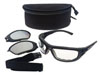 Encon Safety Products Inc Kit, Black Frame, Clear & Smoke Lenses, Fogstopper