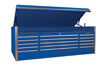 "Extreme Tools 15 Drawer 3 Bay 72"" blue Top Box For the ET  EX7217CHBK"