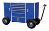 """Extreme Tools Extreme Tools® 70"""" Pit Box, Blue"""