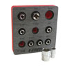 "E-Z Red 1/4"" SAE Magnetic Socket Holder"