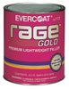 Fibre-Glass Evercoat Rage® Gold Premium Lightweight Body Filler, 3-Gallon