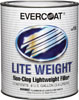 Fibre-Glass Evercoat Lite Weight® Non-Clog Lightweight Filler, Gallon