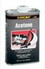 Fibre Glass-Evercoat Acetone, 1-Quart