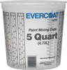 Fibre Glass-Evercoat 5 Quart Paint Mixing Cups