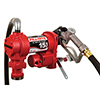 Fill-Rite 12 Volt DC 15 GPM (57 LPM) Pump with Hose and Manual Nozzle