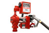 Fill-Rite 12V DC Pump with Hose, Manual Nozzle and Meter