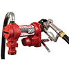 Fill-Rite 12 Volt DC 20 GPM (76 LPM) Pump with Hose and Manual Nozzle