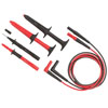 Fluke 6-Piece SureGrip Industrial Test Lead Set