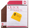 "GL Enterprises 12"" x 12"" 100 Disposable Sheets"