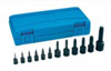 Grey Pneumatic Assorted Drive 12 Piece Int. Star Impact Driver Set