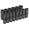 Grey Pneumatic 14-Piece 1/2 in. Drive 6-Point SAE Universal Deep Impact Socket Set