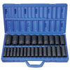 "Grey Pneumatic 26 Pc. 1/2"" Drive 6 Point Metric Deep Master Socket Set"