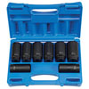 "Grey Pneumatic 8 Piece 1/2"" Drive  12 Point Axle/Spindle Nut Socket Set"