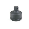 "Grey Pneumatic 1-1/2"" Female x 1"" Male Adapter with Pin Hole"