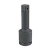 """Grey Pneumatic 1-1/2"""" Drive x 10"""" Extension with Pin Hole"""