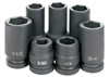 "Grey Pneumatic 7 Piece 1"" Drive Truck Wheel Service Impact Socket Set"