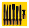 Grey Pneumatic 7 Pc. .498 Shank H.D. Chisel Set