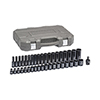 "GearWrench 39 Pc. 1/2"" Drive 6 Point Standard & Deep Impact Metric Socket Set"