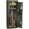 Homak 8 Gun Security Cabinet, Gloss Black