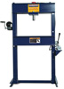 "Hein-Werner Automotive Shop Press, 6"" Stroke, W/ Air-Pump, 25 Ton"