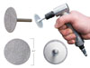 "Innovative Products of America 1/4"" Shank, 3-in-1 Diamond Grinding Wheels"