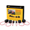 Innovative Products of America 6 Piece Relay Bypass Switch Master Kit with Amp Loop