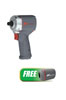 """Ingersoll Rand 3/8"""" Ultra-Compact Impact Wrench w/FREE Boot and Bluetooth Beanie"""