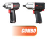 "Ingersoll Rand 1/2"" Quiet Impactool™ w/ 3"" Quiet Impact Wrench"