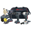 Ingersoll Rand 12V Cordless Impact Wrench, 12V Ratchet and Polisher/Sander Combo Kit