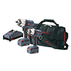 Ingersoll Rand 20V 3 Tool Combo Kit W/FREE 1/2IN Cordless Drill Driver W/FREE 20V 5AH Battery