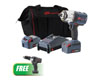 "Ingersoll Rand ½½ IQV20 Impact Wrench, 2 Battery Kit w/FREE 1/2"" Cordless Drill Driver"