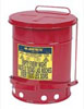 Justrite Manufacturing Company 10-Gallon Oily Waste Can for General Use