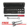 GearWrench 15PC RATCHETING SERP BELT TOOL SET W/ FREE 2PC DOUBLE X PLIERS SET