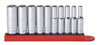 "GearWrench 10 pc. 1/4"" Dr. 6 pt. Deep SAE Socket Set"