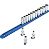 """GearWrench 14 Pc. 3/8"""" Drive 6 Point Metric Mid Length Socket Set"""