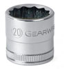 GearWrench ½½ Dr. 12 Pt. Std. Metric Socket, 15mm